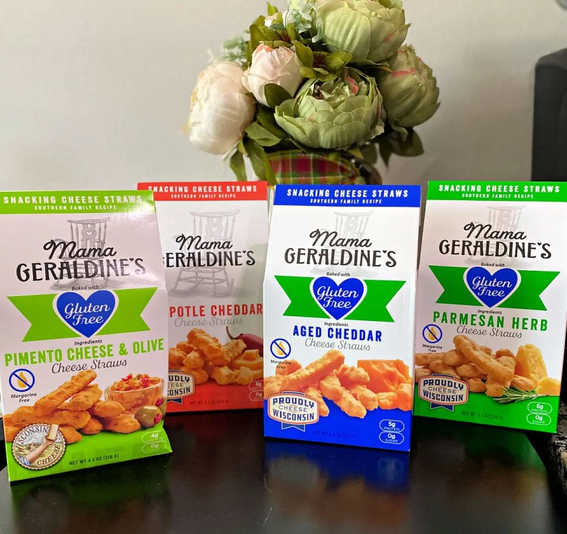 Mama Geraldine's Cheese Straws and Gourmet Cookies - Back to School Lunches