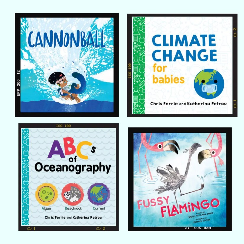 4 New Children Books about Oceans and Climate
