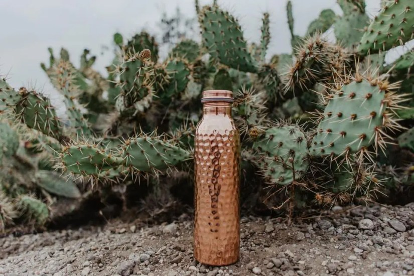 Head back to school with the naturally anti-viral copper H2O Water Bottle