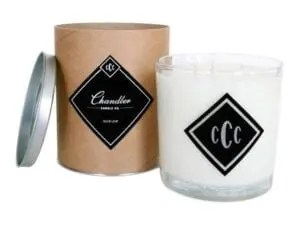 Chandler Candle Co. scented candles are hand-poured in small batches to ensure quality and performance. Our strong, though not over-powering scents are made using only the highest-quality fragrances. We use all-natural, non-toxic, and completely renewable soy wax that burns cleaner and longer than paraffin