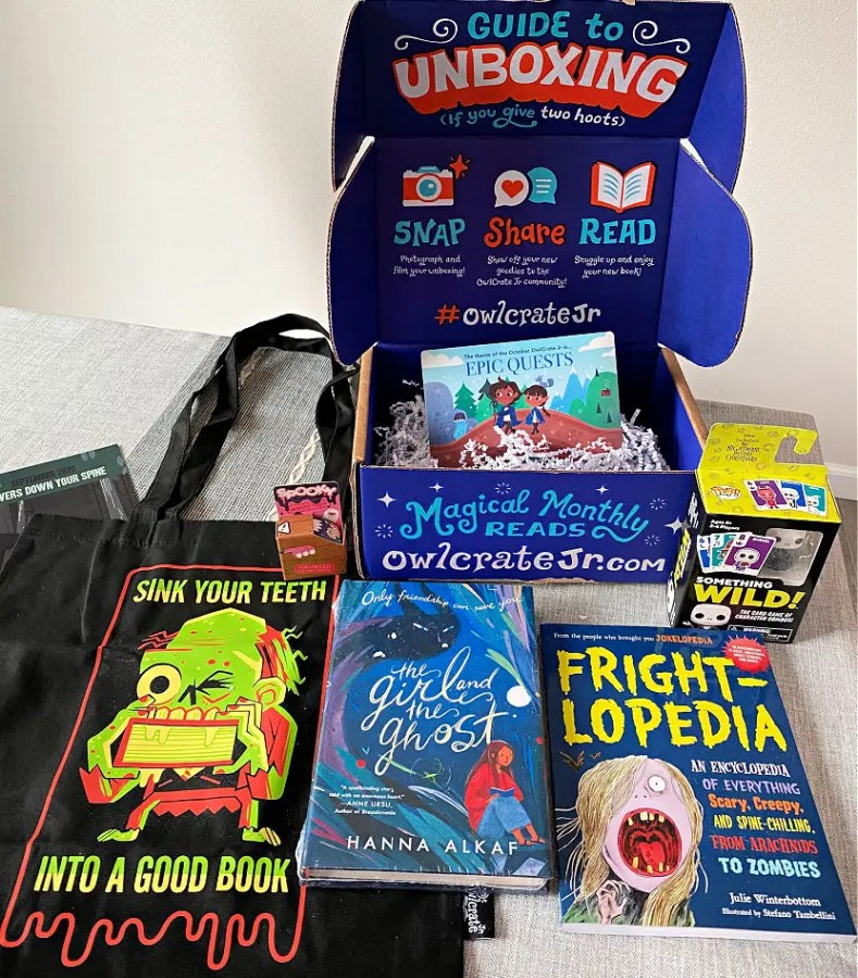 Popular Subscription Box for Kids - Owl Crate Jr. has Fun Fall Book Themes