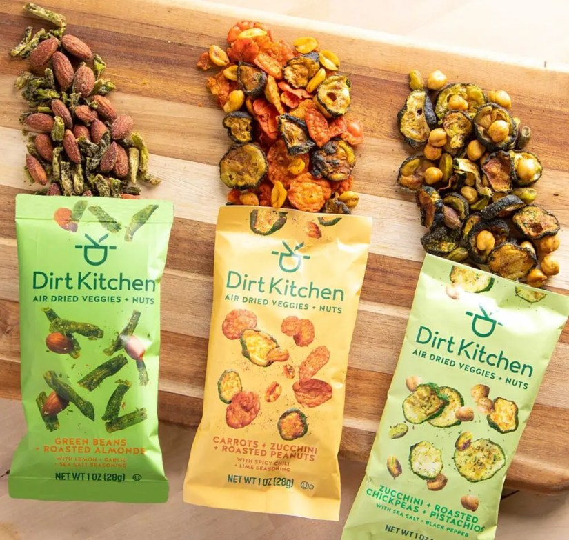 Dirt Kitchen Real Air Dried Veggie Snacks