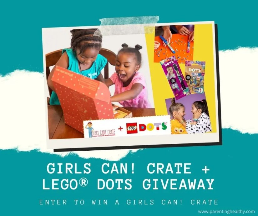 GIRLS CAN! CRATE and LEGO® DOTS Giveaway