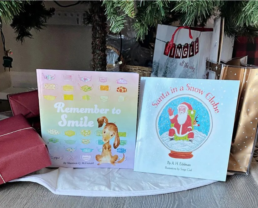 2 Children's Books about the COVID Holidays to download or purchase