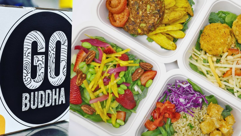 GO Buddha Dairy Free, Gluten Free, and Vegan Friendly Prepped Meals