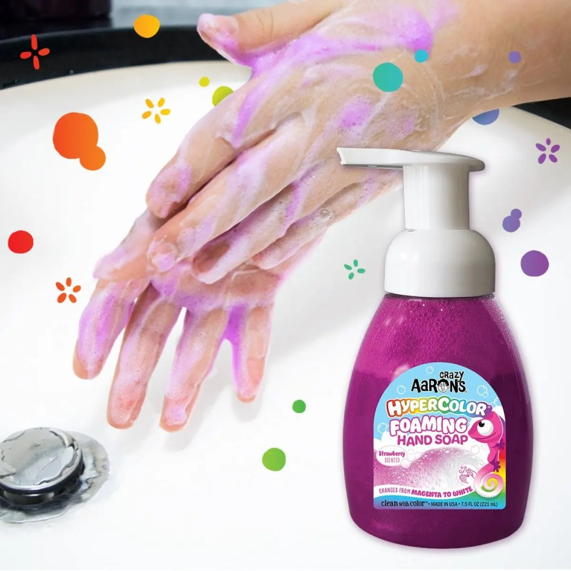 Encourage Kids to Wash Their Hands with Clean With Color