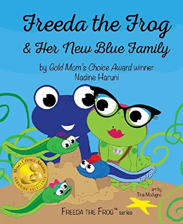 Freeda the Frog and Her New Blue Family - Black History Month Kids Book