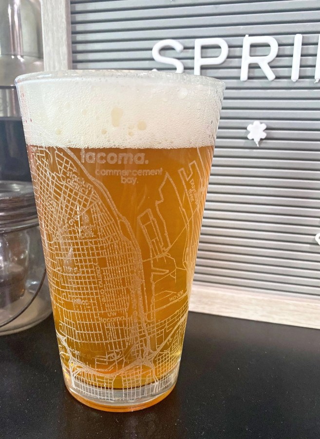 Well Told Beer Glass