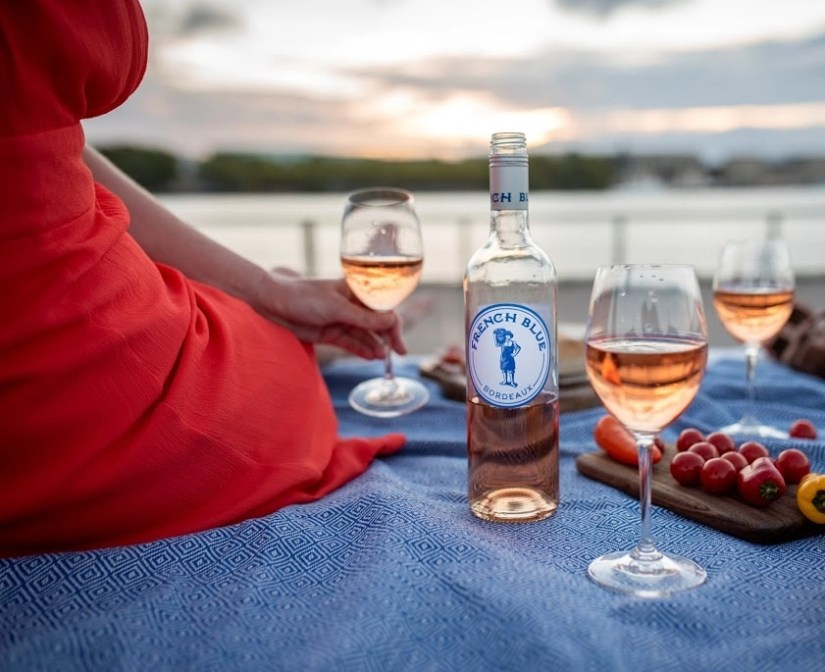 French Blue Wine puts an American twist on French rosé