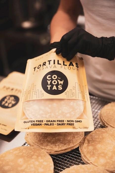 Coyotas grain-free, vegan, and Paleo tortillas