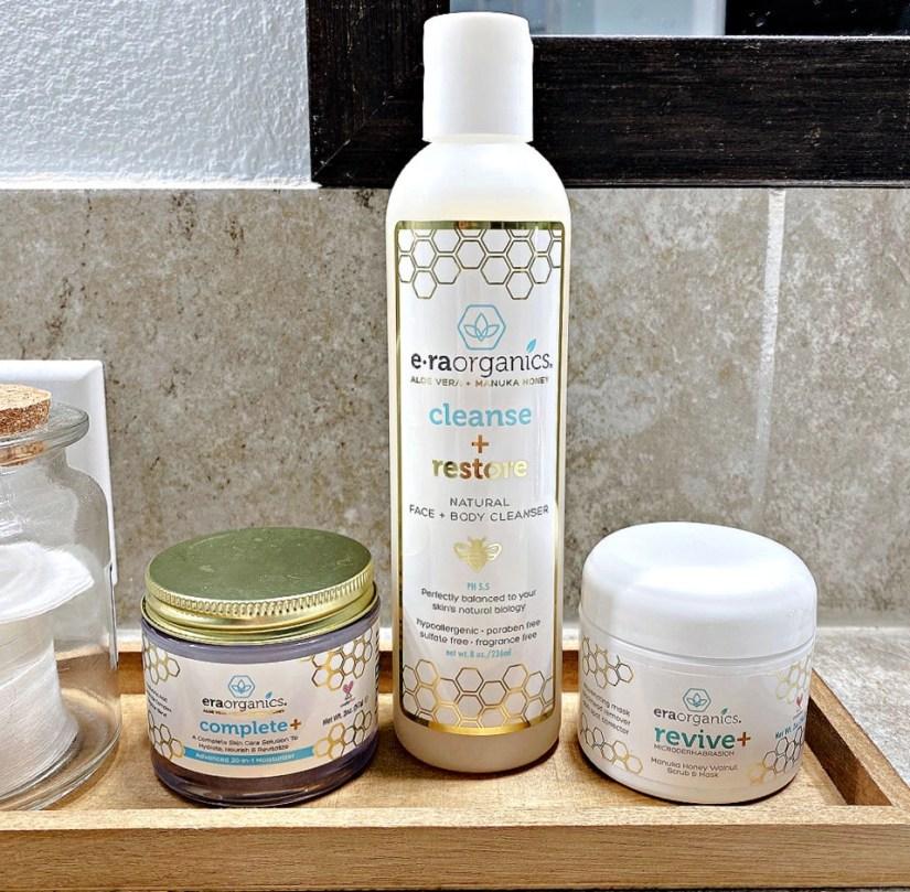 3 Products I love from ERA Organics plant-based skincare