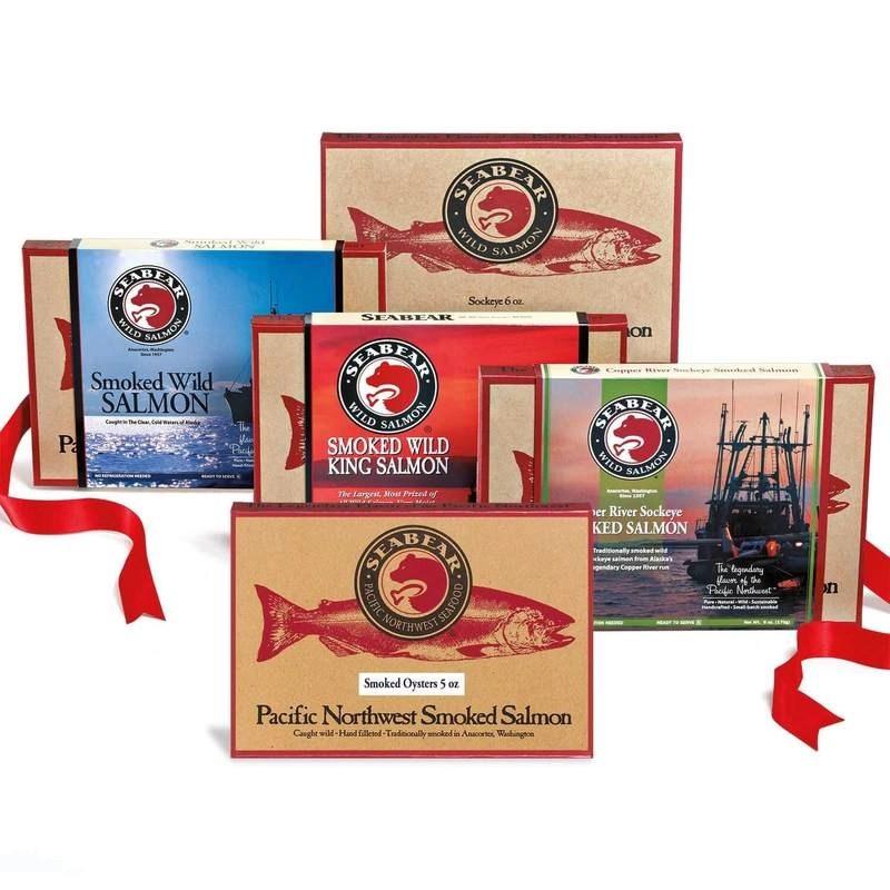 SeaBear Smokehouse - the Washington based seafood brand has gift packs