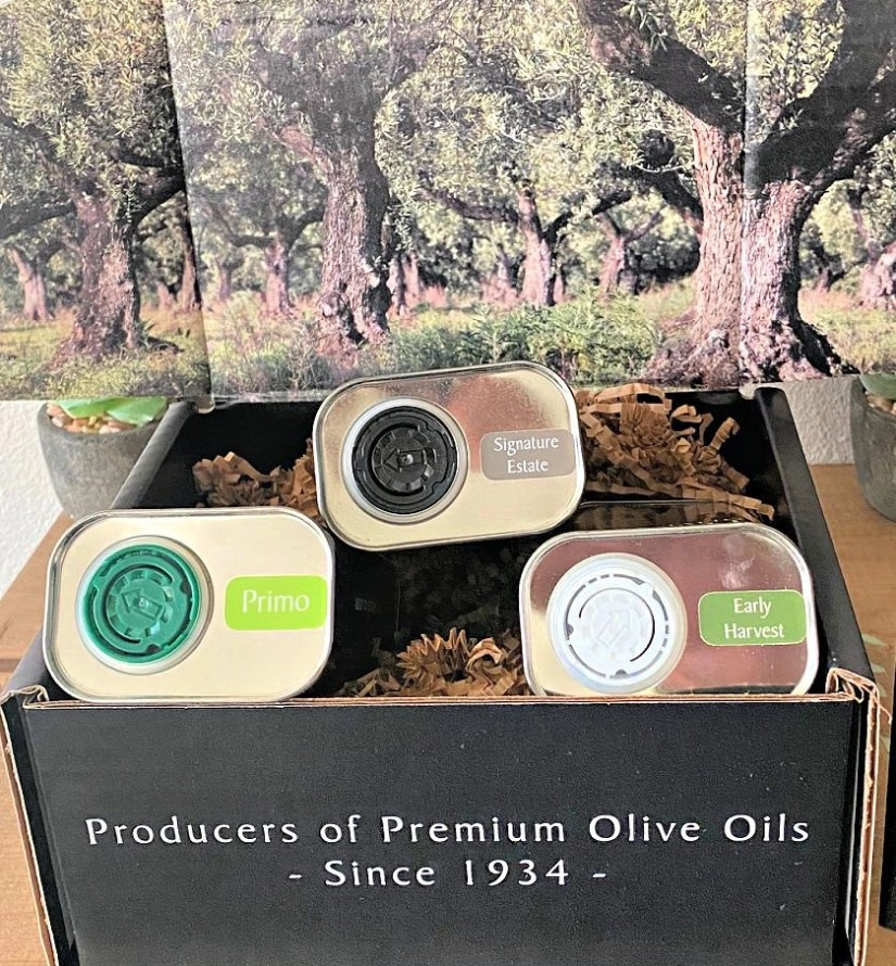 TRE Olive EVOO direct from olive groves in Calabria, Italy