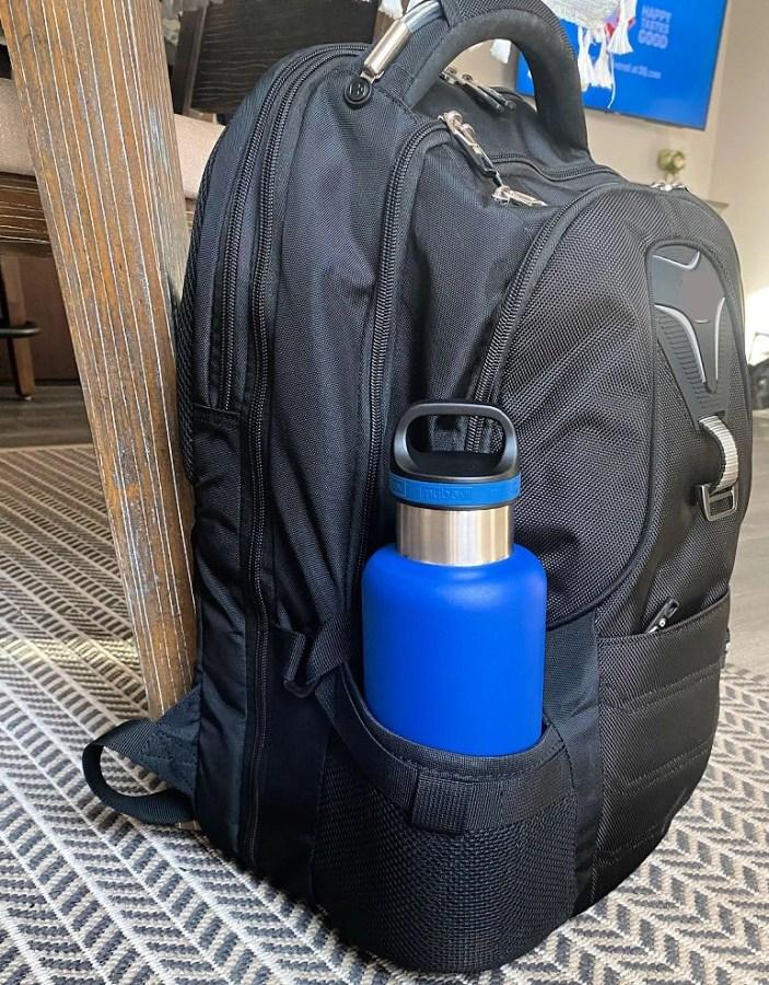water bottle - blue