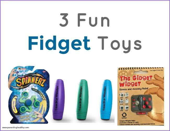 3 Fun Fidget Toys