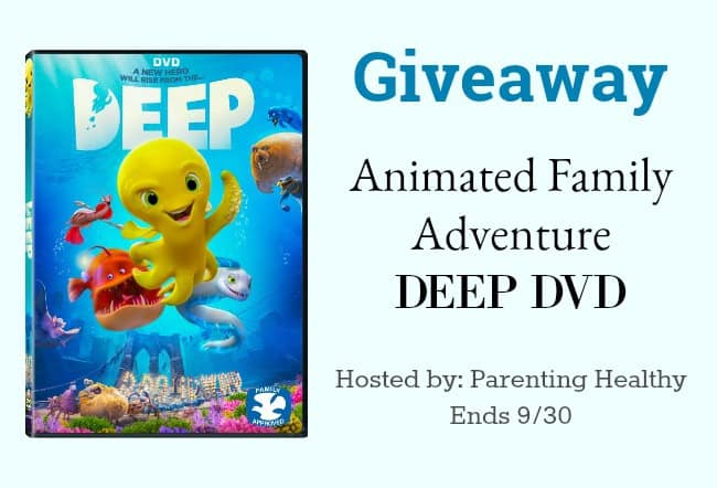 Animated Family Adventure DEEP DVD - Giveaway
