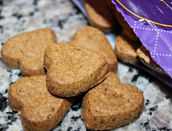 heart dog treats