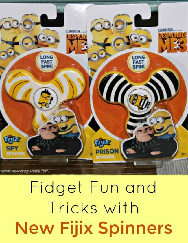 Fidget Fun and Tricks with New Fijix Spinners