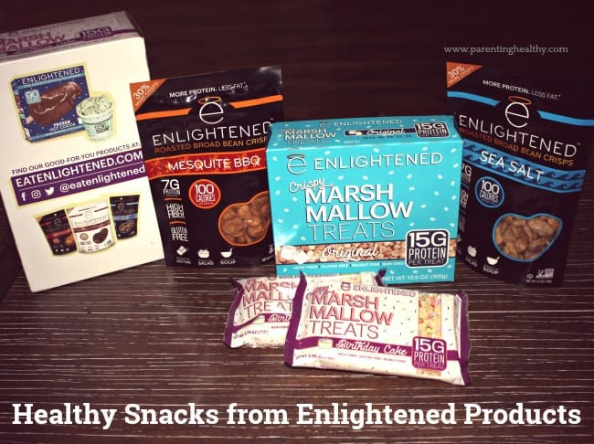 Healthy Snacks from Enlightened Products