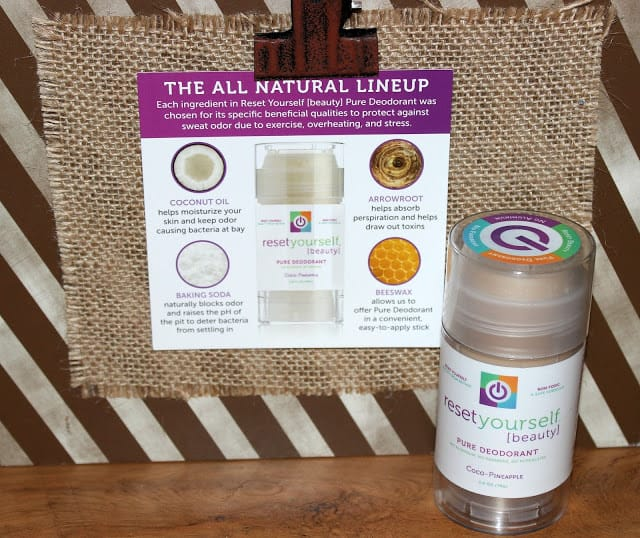 Pure and Natural Deodorant