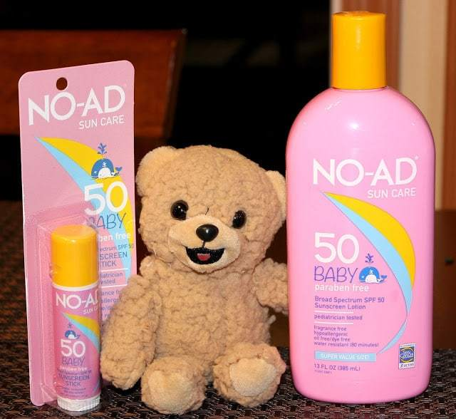 New Baby Sun Care from NO-AD
