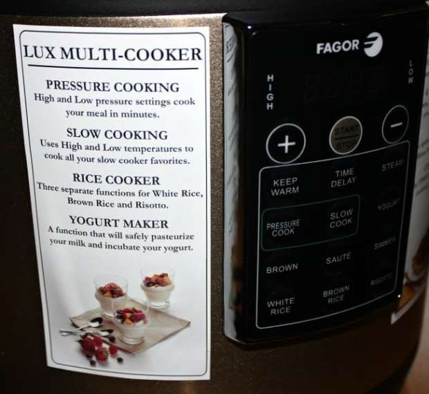 Multi-Cooker features