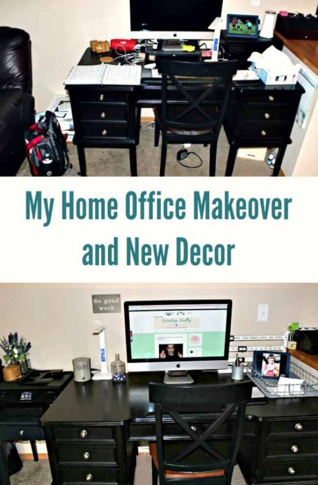 My Home Office Makeover and New Decor