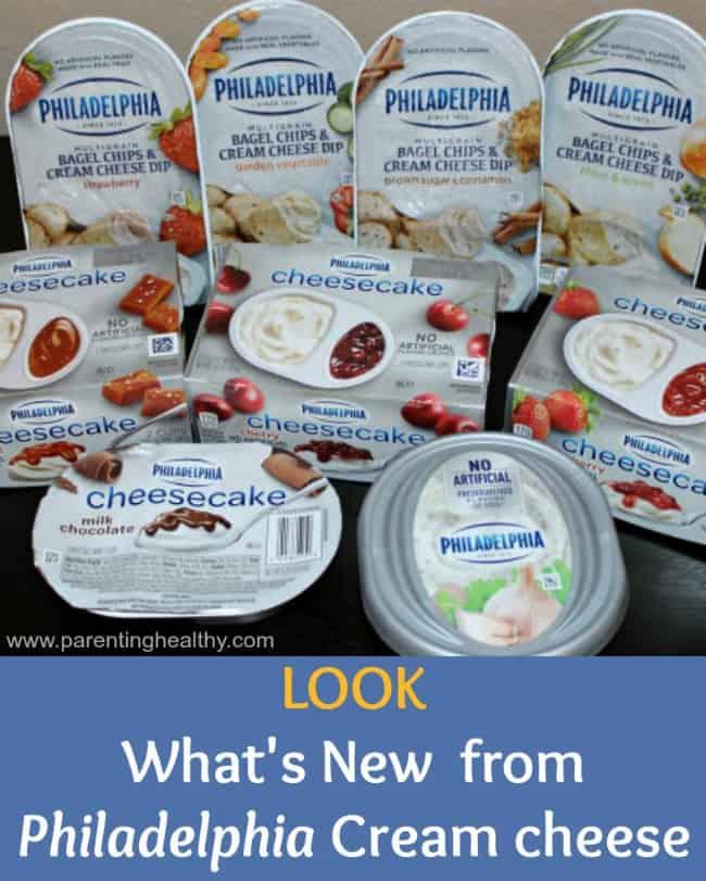New Handy Snacks from Philadelphia Cream cheese