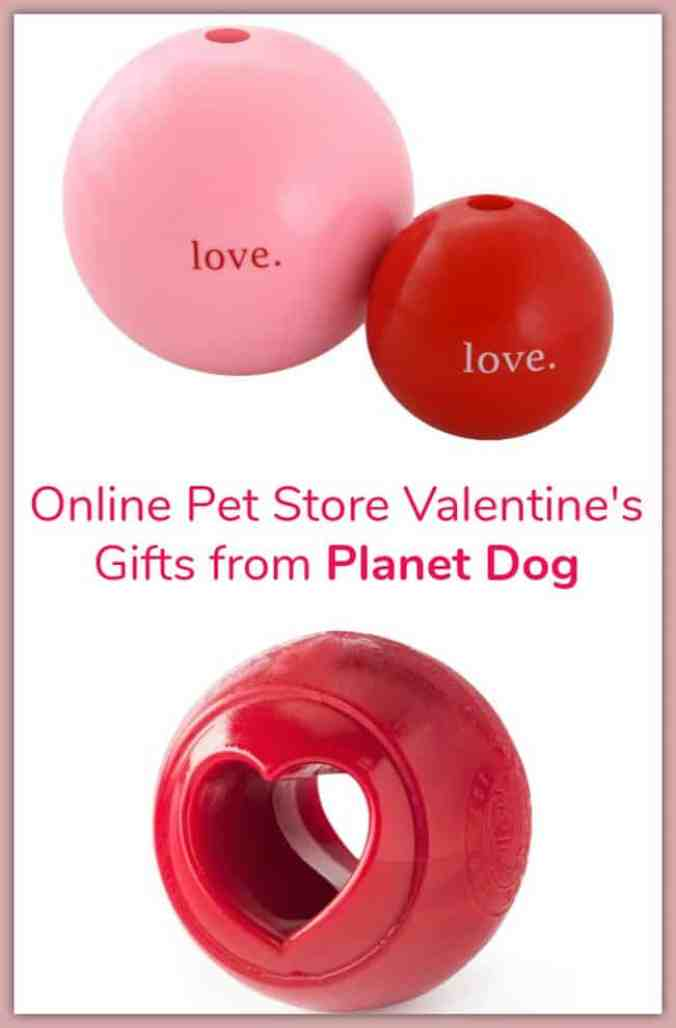 Online Pet Store Valentine's Gifts from Planet Dog