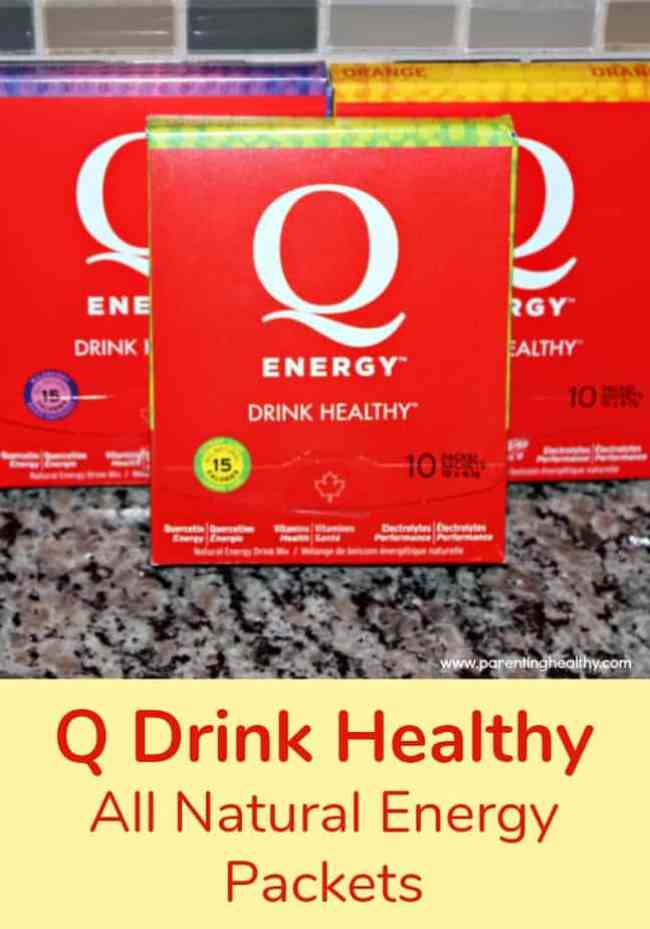 Q Drink Healthy: All Natural Energy Packets