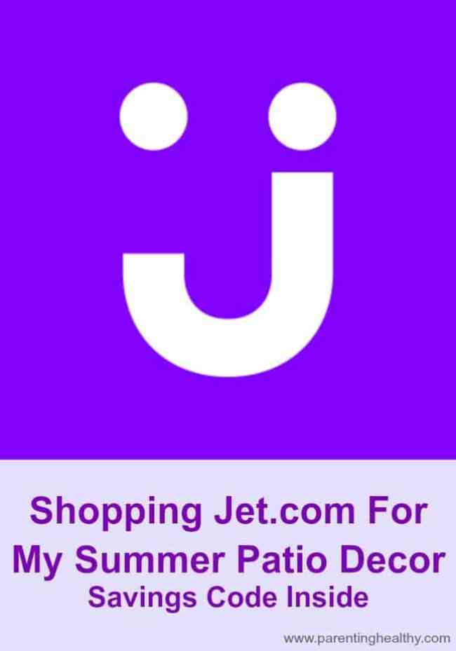 Shopping Jet For My Summer Patio Decor - Savings Code Inside