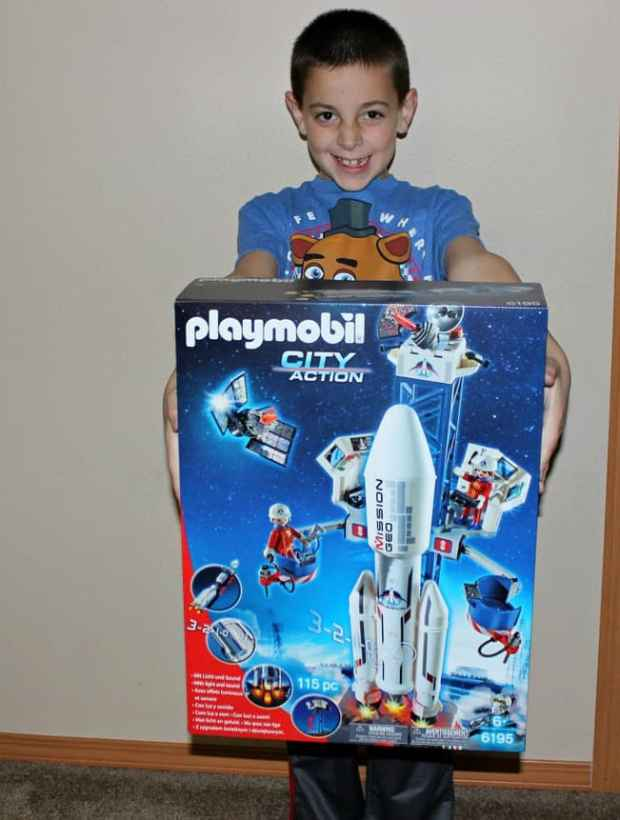 Space rocket gift