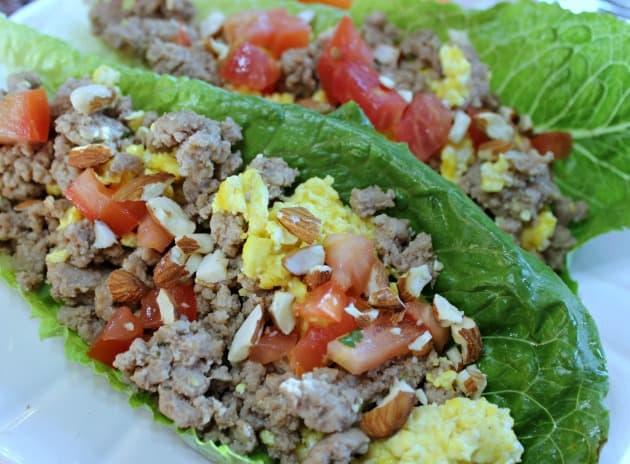 The Best Healthy Ground Turkey Lettuce Wrap Recipe