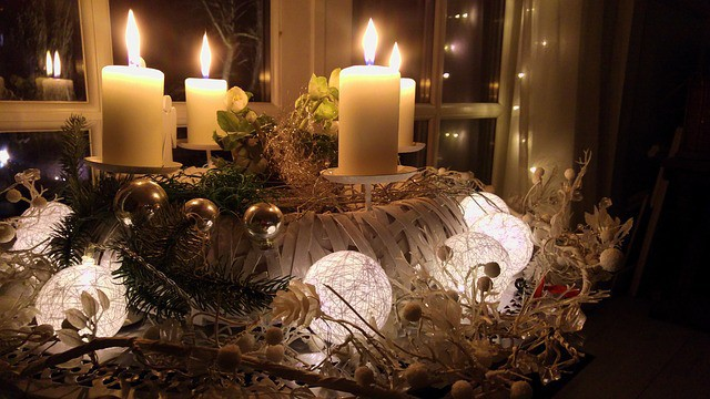 Shabby Chic Christmas Wreath Ideas