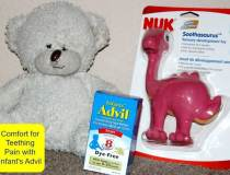 Comfort for Teething Pain with Advil