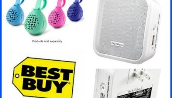 b599b3b7fde 2 Insignia Bluetooth Speakers from Best Buy