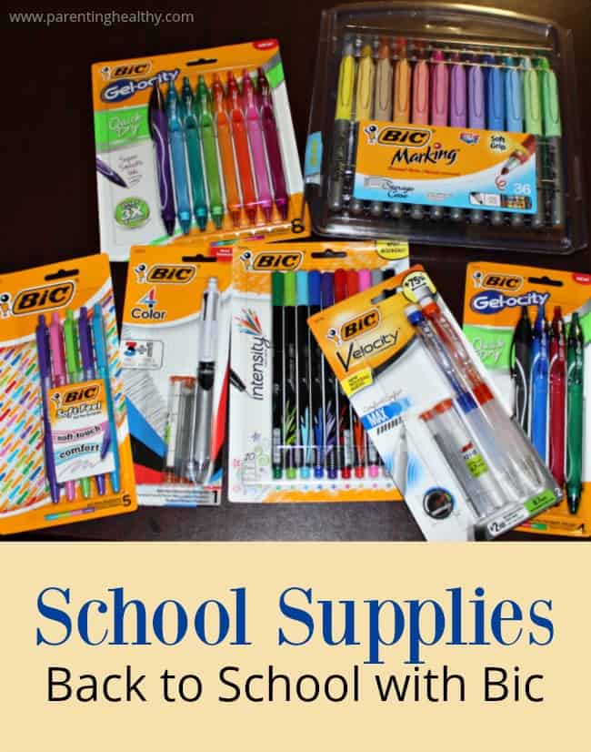 School Supplies - Back to School with Bic