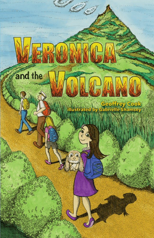New Children's STEM Book - Veronica and the Volcano