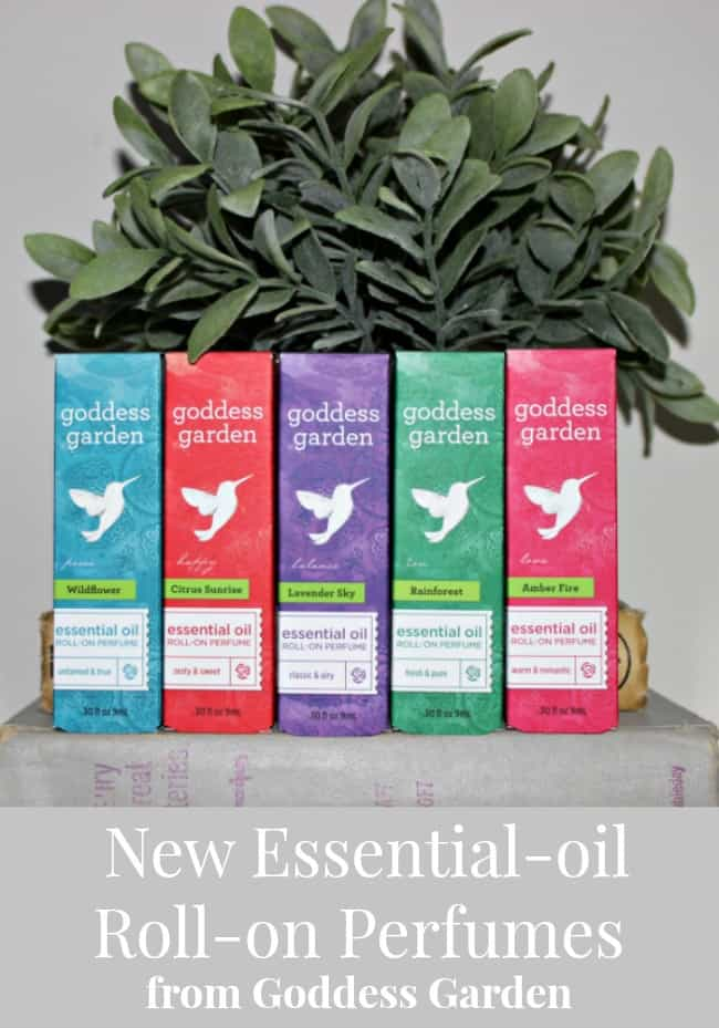 New Essential-oil Roll-on Perfumes from Goddess Garden