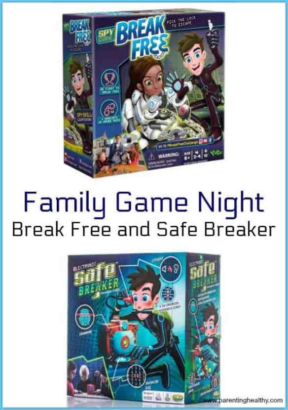 Family Game Night - Break Free and Safe Breaker