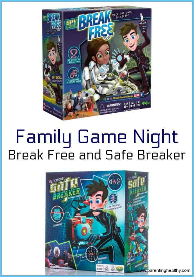 Family Game Night - Break Free and Safe Breaker