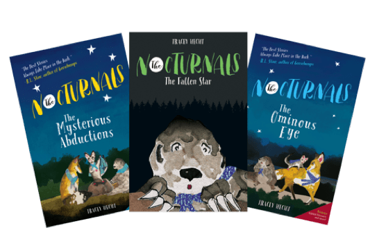 The Nocturnals Book Series for Tweens about Bullying
