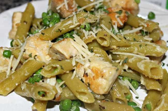 low carb chicken penne
