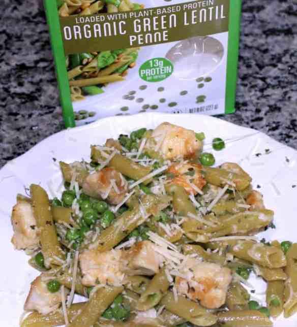 organic lentil pasta