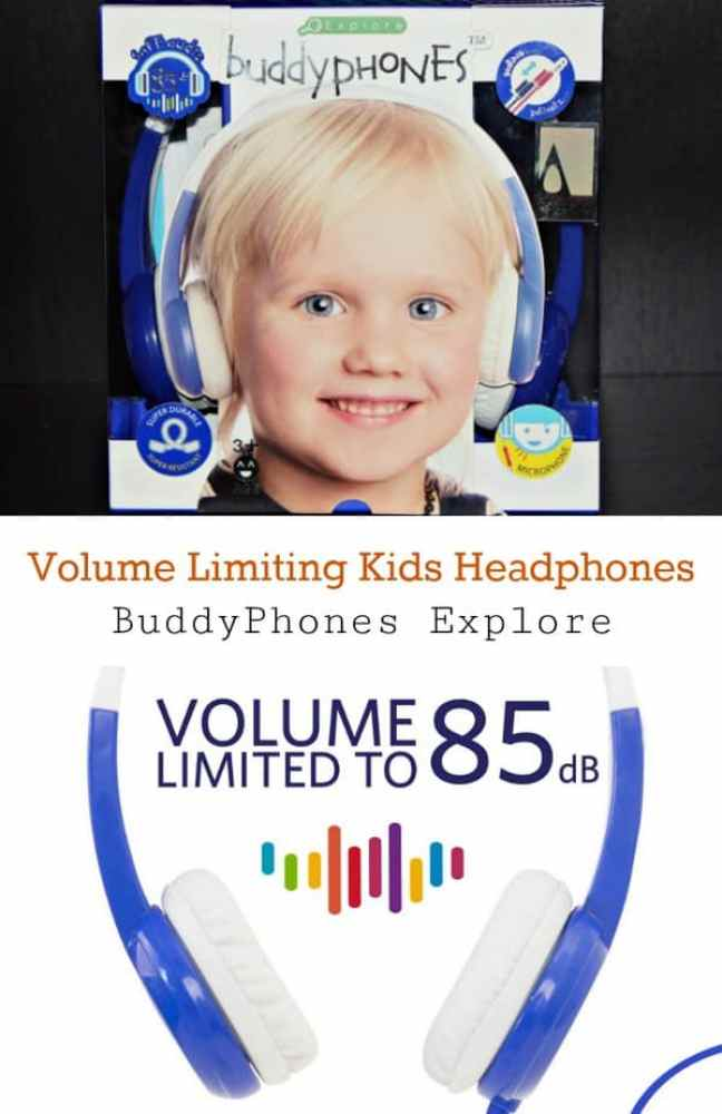 Volume Limiting Kids Headphones - BuddyPhones Explore