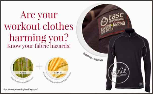 Are your workout clothes harming you? Know your fabric hazards!