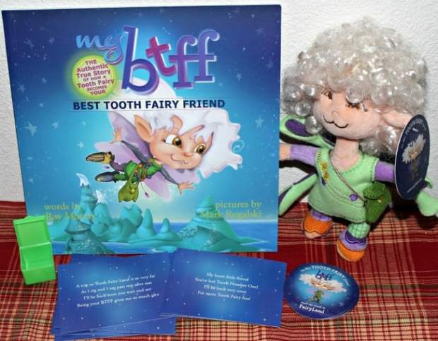 tooth fairy book set