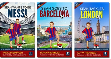 Sean Wants To Be Messi Children Books Set