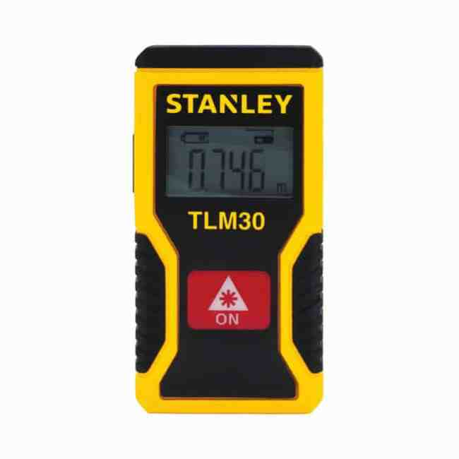 Smallest Rechargeable Laser Distance Measurer by Stanley