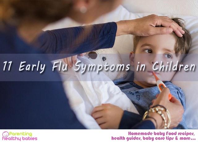 11 Early Flu Symptoms in Children